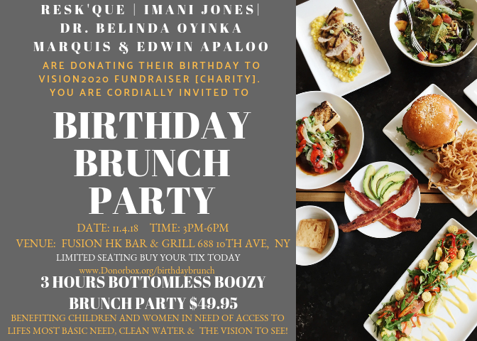 Notable New York Philanthropists Host a Joint Charity Birthday Brunch With Proceeds Being Donated